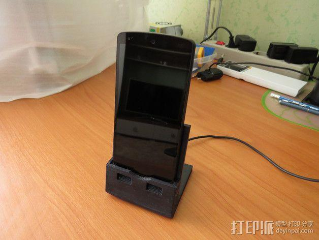 Nexus 5手机支撑架 3D模型  图9