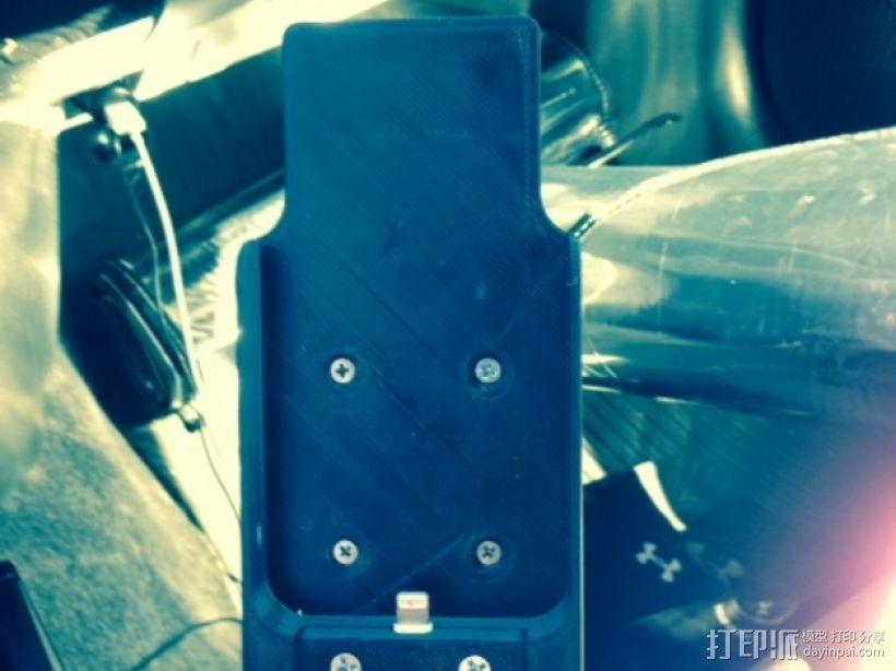 车载式iPhone 5 手机架 3D模型  图1