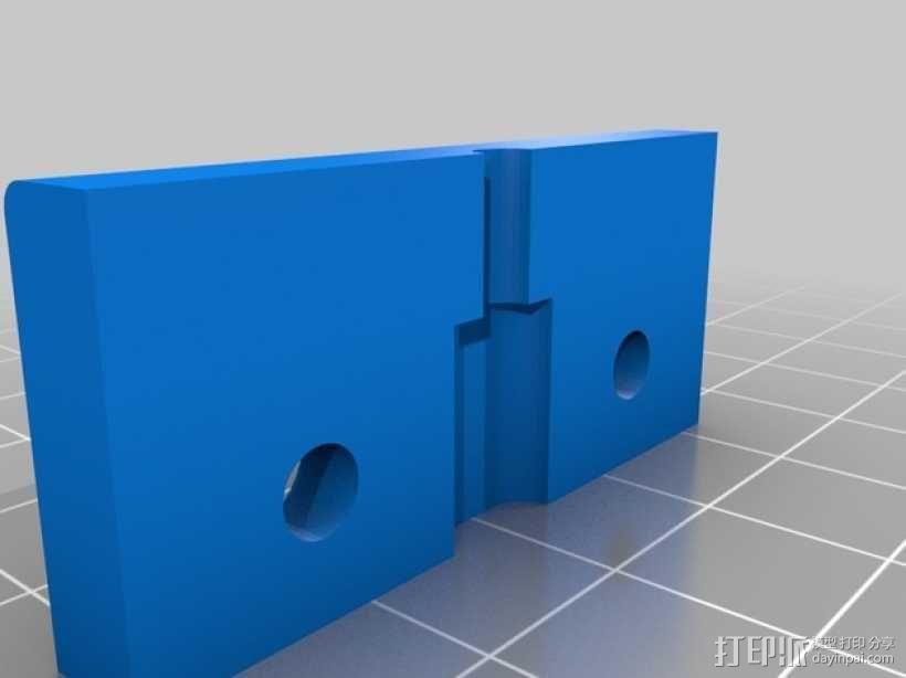 车载式iPhone 5 手机架 3D模型  图4