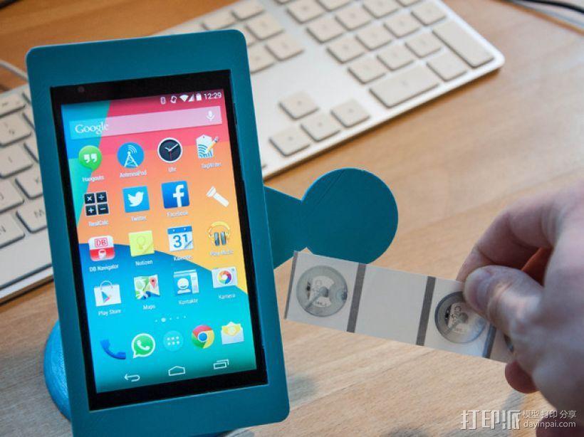 Nexus 5手机架 3D模型  图1