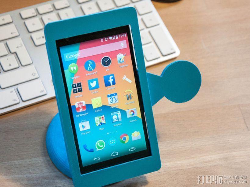 Nexus 5手机架 3D模型  图4