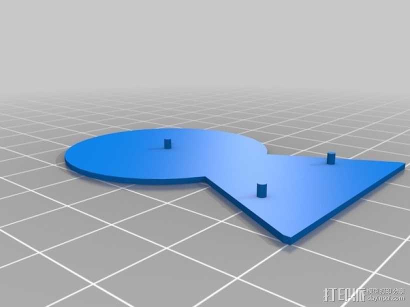 Nexus 5手机架 3D模型  图7