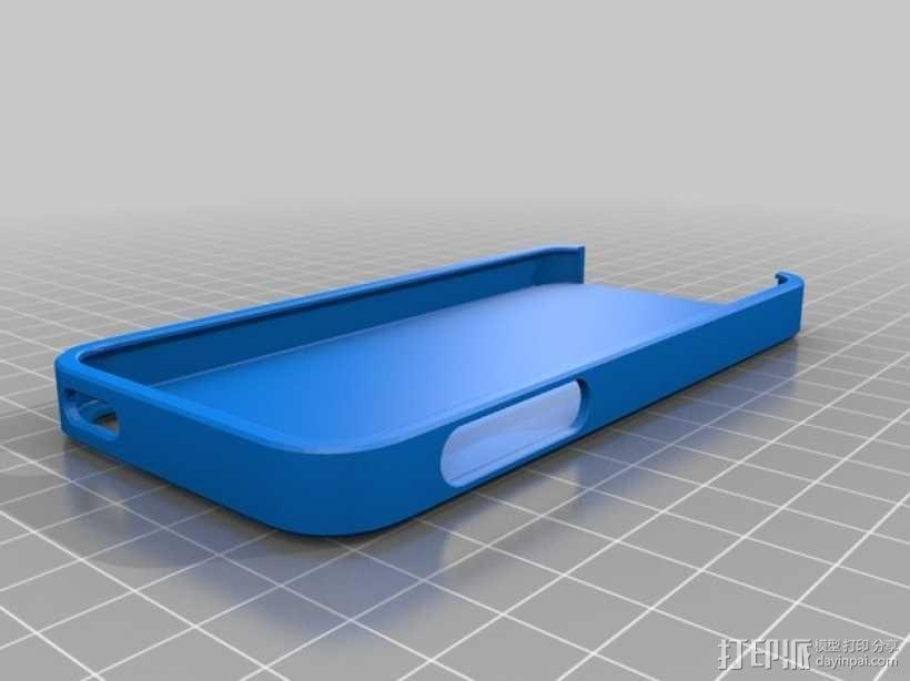 iPhone 5s 手机壳 3D模型  图1