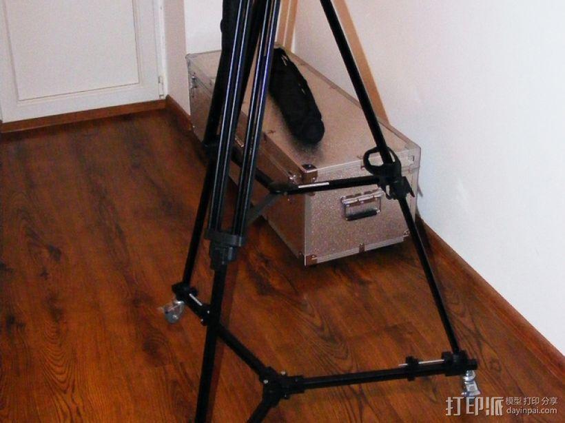 摄像机三脚架  3D模型  图1
