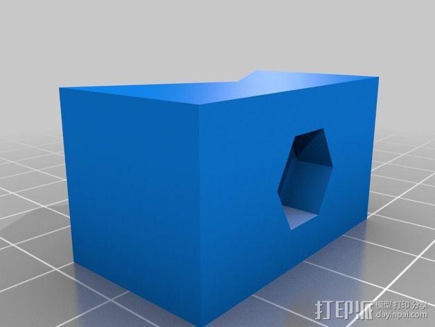 摄像机三脚架  3D模型  图3