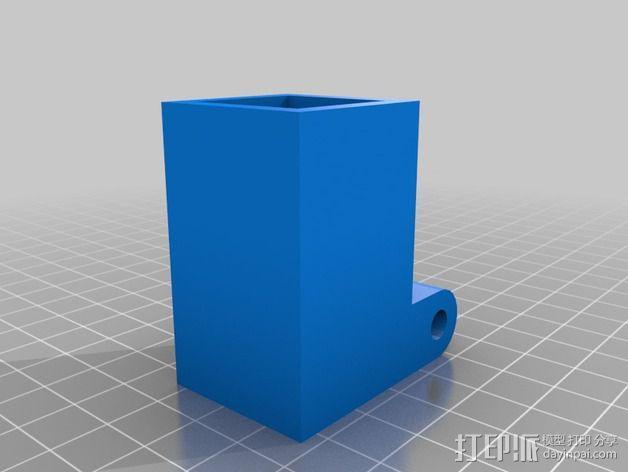 摄像机三脚架  3D模型  图5