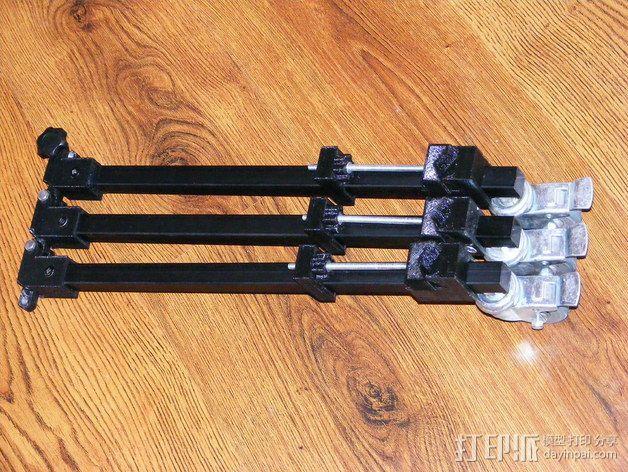 摄像机三脚架  3D模型  图7