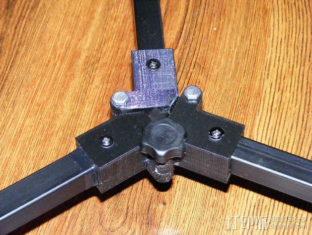 摄像机三脚架  3D模型  图8