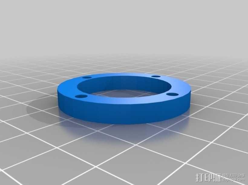 树莓派相机透镜支架 3D模型  图13