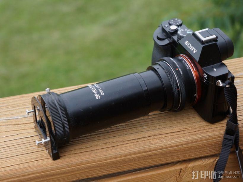 相机镜头盖 3D模型  图4