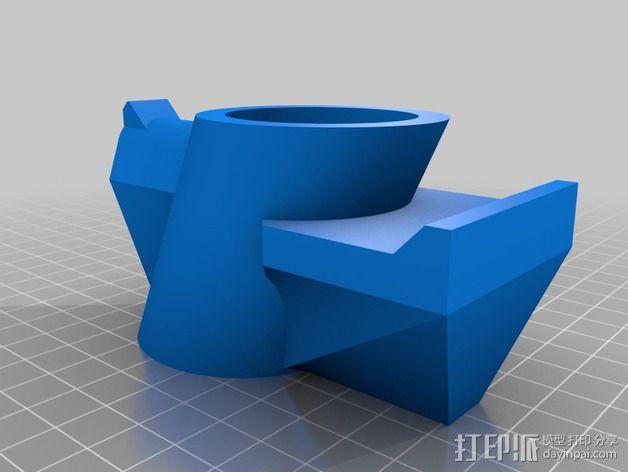 眼镜架 3D模型  图4