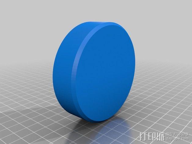 相机滤镜盒 3D模型  图6