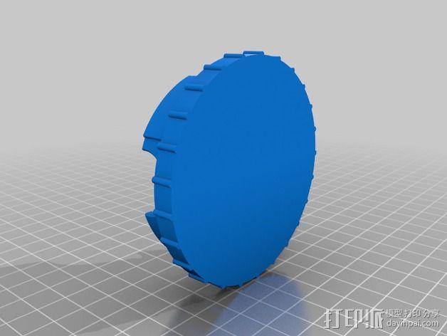 相机滤镜盒 3D模型  图5