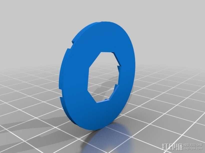 光圈科技标志 3D模型  图2