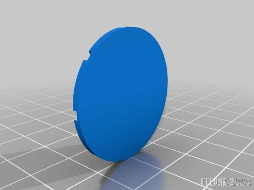 光圈科技标志 3D模型  图4