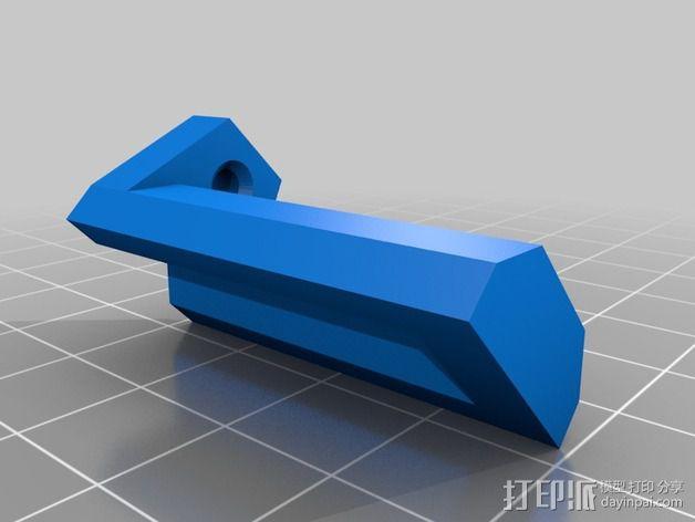 Star tracker步进电机蜗杆 3D模型  图8
