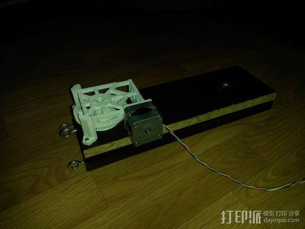 Star tracker步进电机蜗杆 3D模型  图14