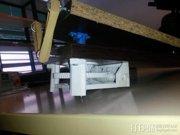 Star tracker步进电机蜗杆 3D模型  图15