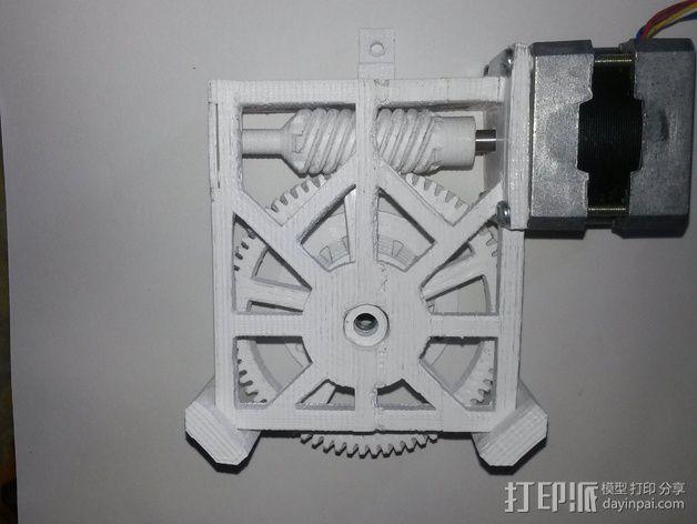 Star tracker步进电机蜗杆 3D模型  图13