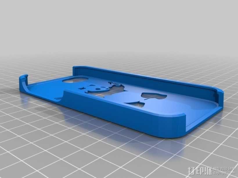 功夫熊猫iPhone5手机壳 3D模型  图2