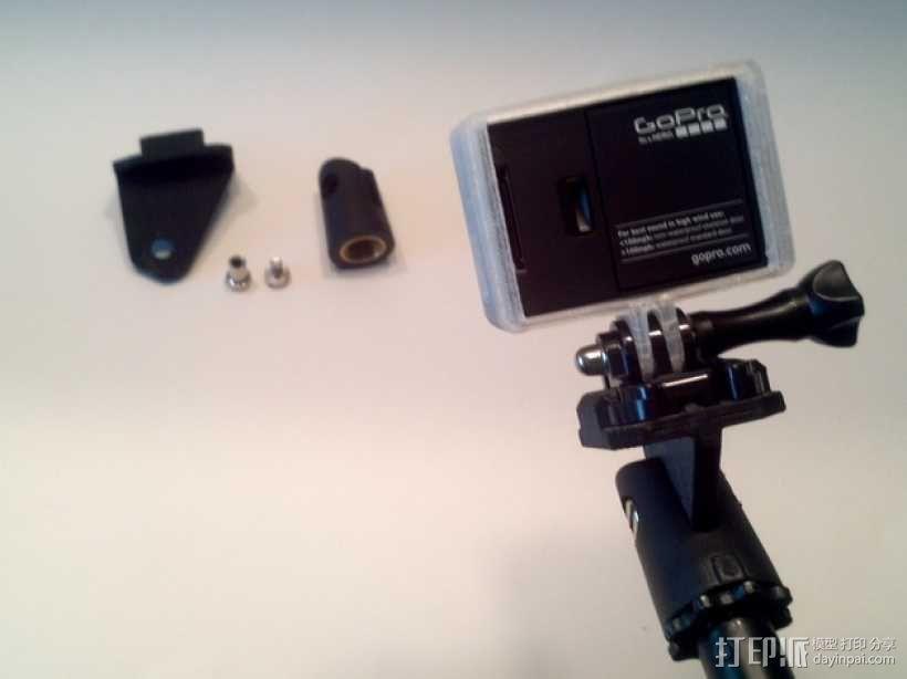 GoPro相机支撑架 3D模型  图1