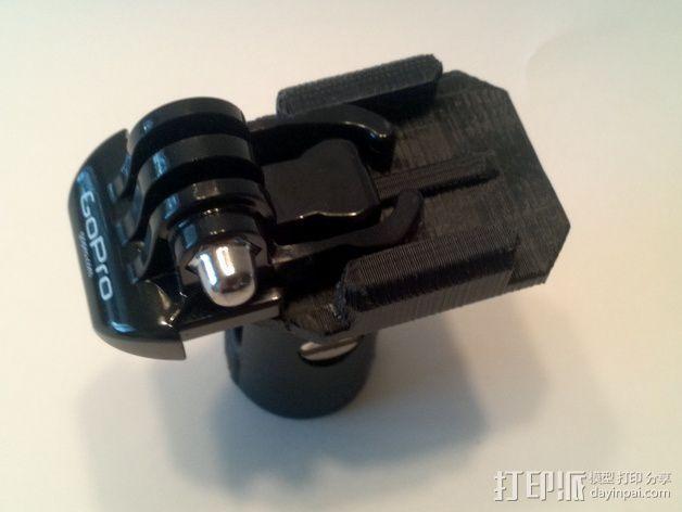 GoPro相机支撑架 3D模型  图7