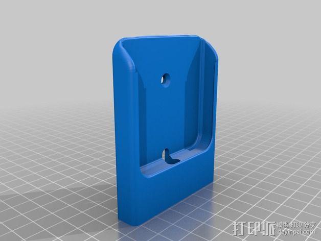 可旋转的手机支架 3D模型  图3