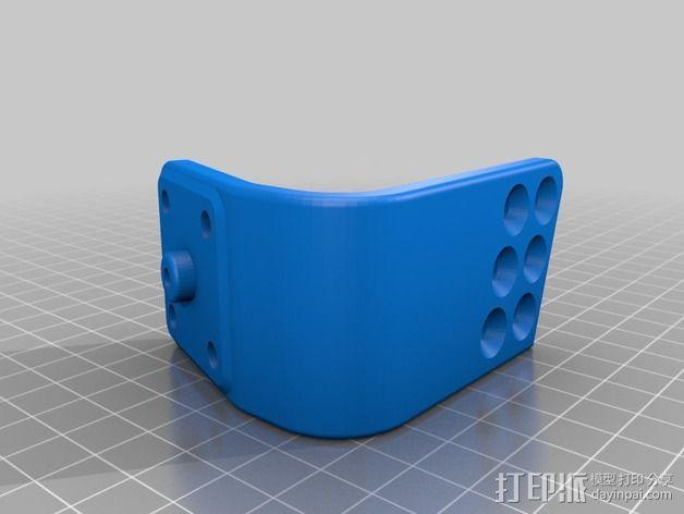 可旋转的手机支架 3D模型  图4