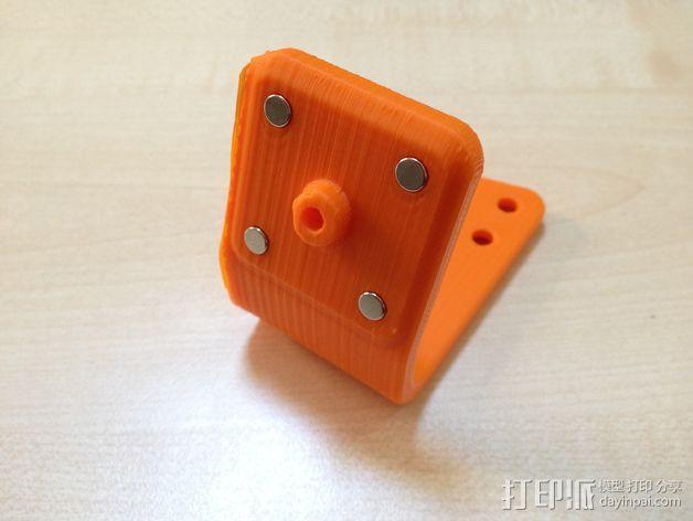 可旋转的手机支架 3D模型  图10