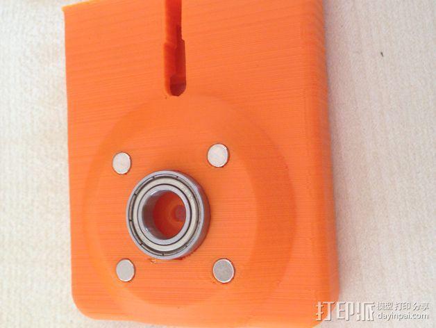 可旋转的手机支架 3D模型  图11