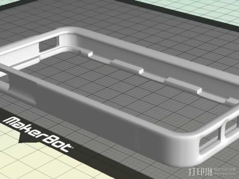 iPhone 5手机边框保护壳 3D模型  图1
