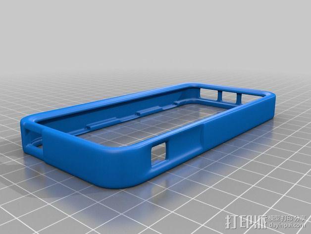iPhone 5手机边框保护壳 3D模型  图4