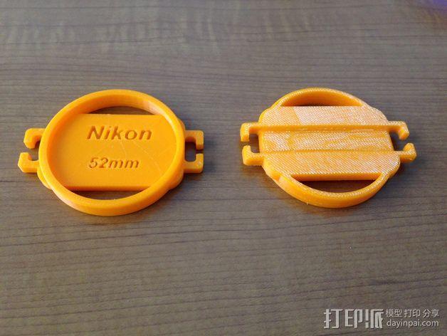 相机盖  3D模型  图2