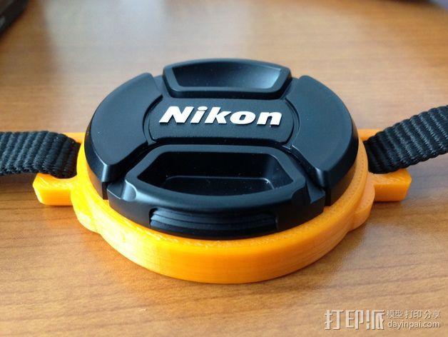 相机盖  3D模型  图3