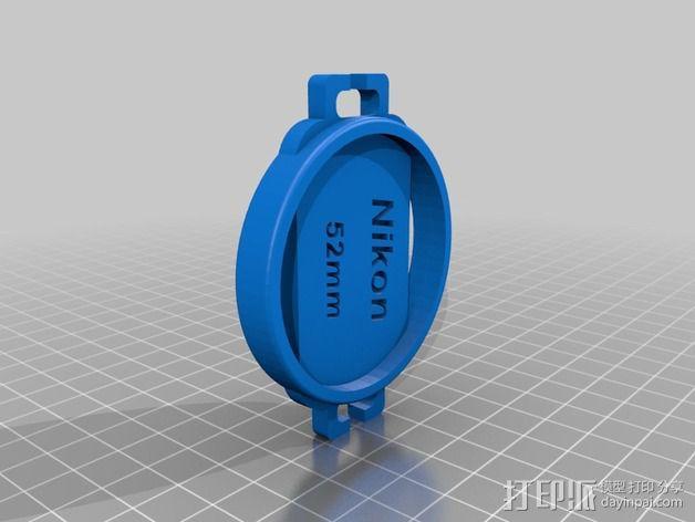 相机盖  3D模型  图5