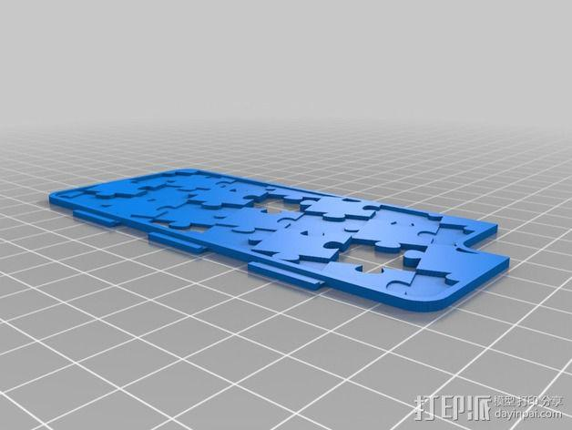 iPhone 5/5S 手机保护壳 3D模型  图2