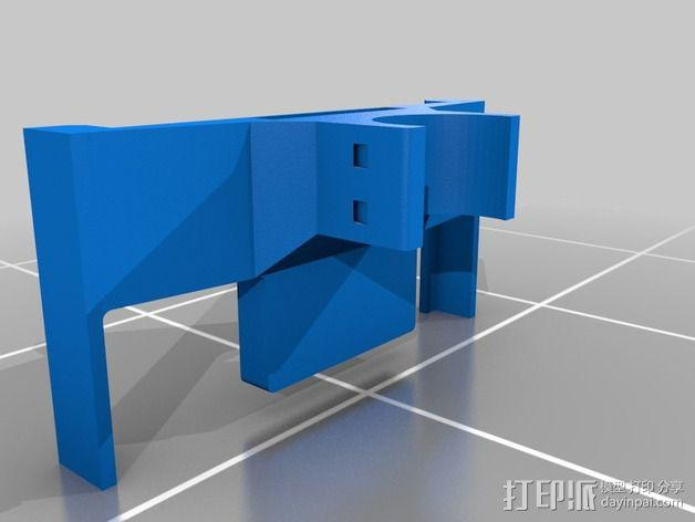 Nexus 5手机支架 3D模型  图2