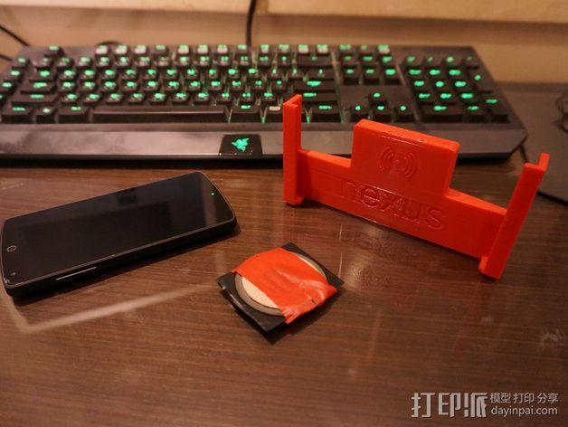 Nexus 5手机支架 3D模型  图5