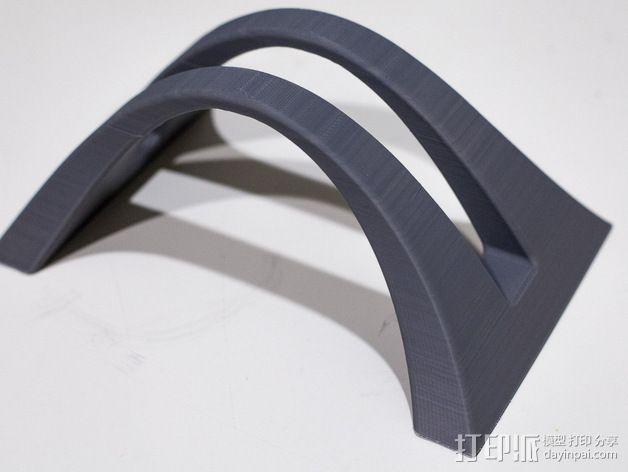 MacBook Pro 苹果笔记本电脑支撑架 3D模型  图3