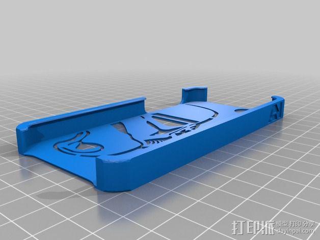 帝国突击兵 iPhone5手机壳 3D模型  图2