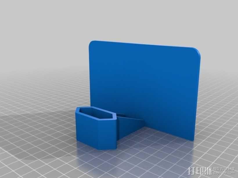 手机充电座 3D模型  图7