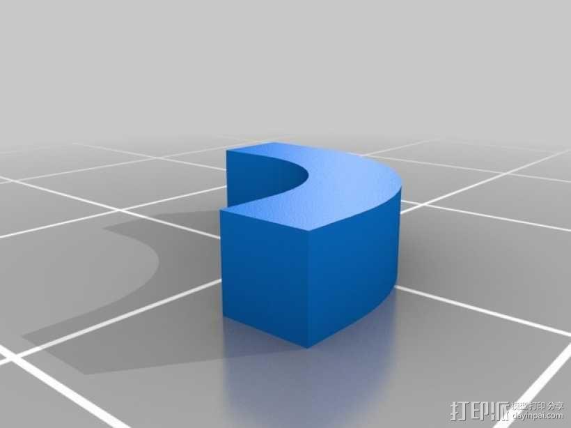 手机充电座 3D模型  图8