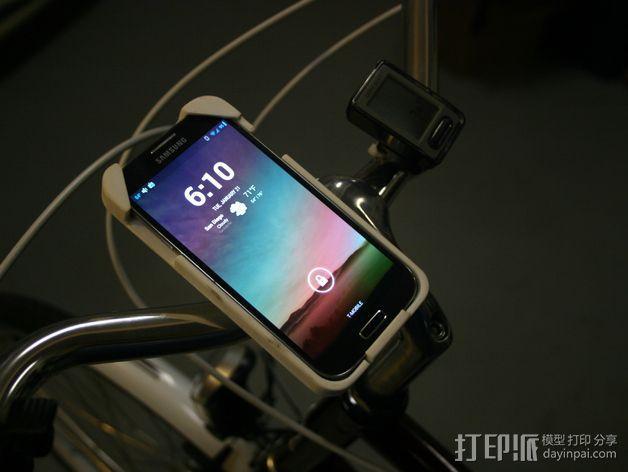 三星Galaxy S4手机支架 3D模型  图1