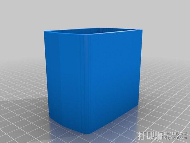 尼康相机闪光镜保护罩 3D模型  图3