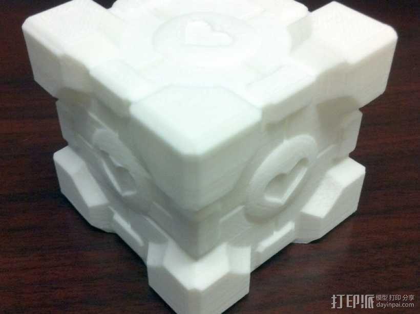 方形盒 传送塔 3D模型  图1