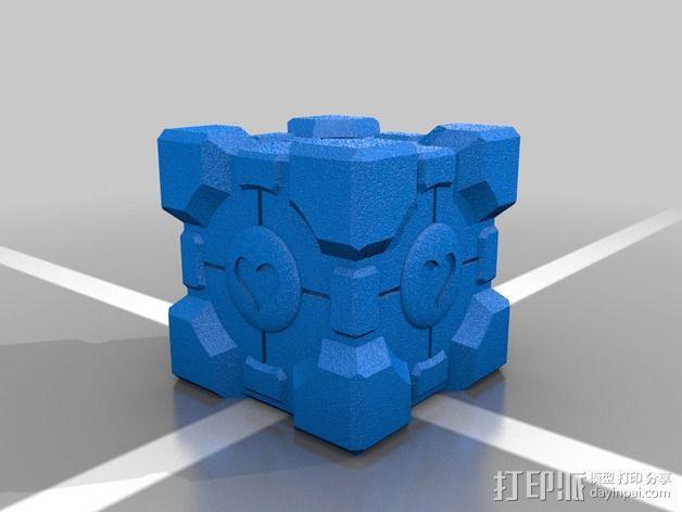 方形盒 传送塔 3D模型  图2