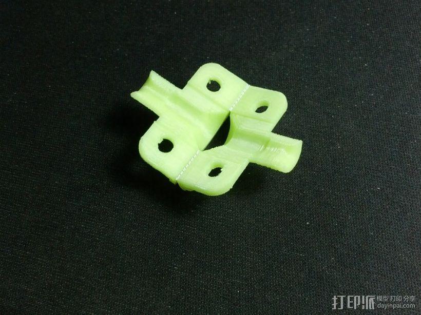 苹果电脑充电适配器电缆保护壳 3D模型  图7