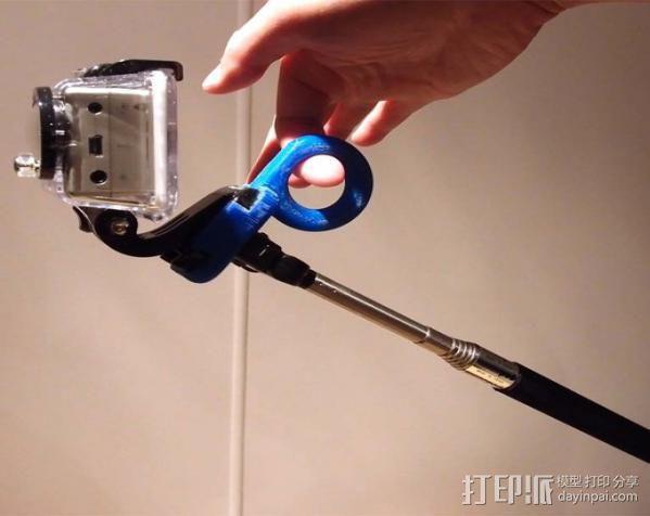 GoPro相机稳定器 3D模型  图2