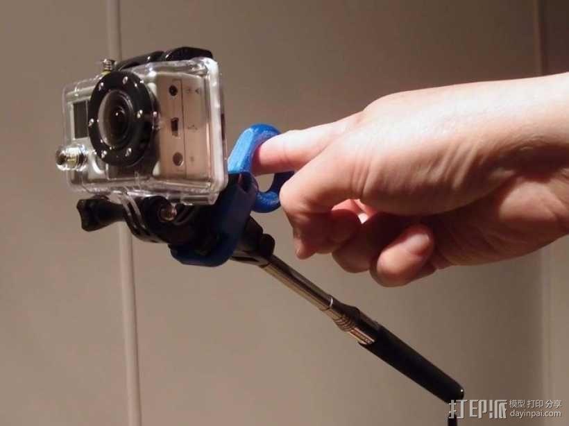 GoPro相机稳定器 3D模型  图1