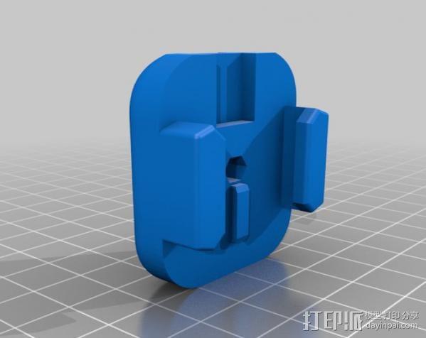 GoPro相机稳定器 3D模型  图4